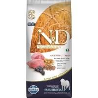 FARMINA N&D Low Grain Agneau & Myrtilles pour chien adulte de grande taille