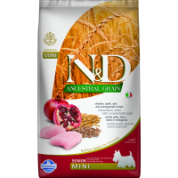 FARMINA N&D Low Grain SENIOR Poulet & Grenade pour chien senior de petite et moyenne taille
