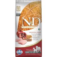 FARMINA N&D Low Grain LIGHT Poulet & Grenade pour chien adulte de moyenne et grande taille
