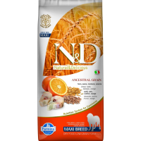 FARMINA N&D Low Grain Poisson & Orange pour chien adulte de grande taille