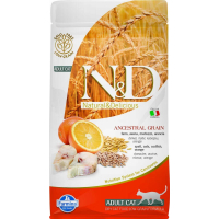 FARMINA N&D Low Grain Poisson & Orange pour Chat Adulte