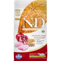 FARMINA N&D Low Grain Hühnchen & Granatapfel für sterilisierte Katzen