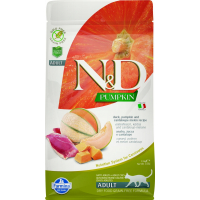 FARMINA N&D Grain Free Potiron Canard & Melon Cataloup pour Chat Adulte