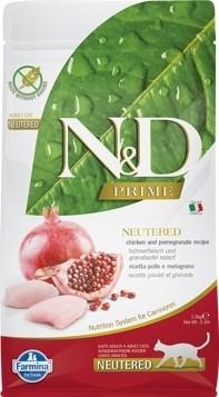 FARMINA N&D Prime - Poulet & Grenade pour Chat Stérilisé