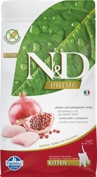FARMINA N&D Prime au Poulet & Grenade pour Chaton