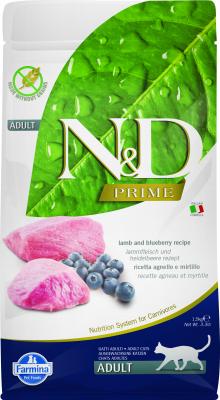 FARMINA N&D Prime - Agneau & Myrtilles pour Chat Adulte