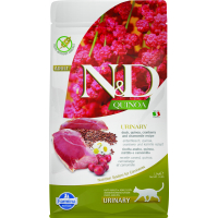 FARMINA N&D URINARY Quinoa Canard & Canneberge pour Chat Adulte