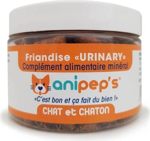 Complemento nutricional terapéutico. Snack ANIPEP'S URINARY para gato y gatito.