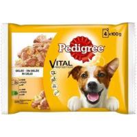 Pack de 4 Sachets Fraîcheur PEDIGREE pour chien adulte - 100g - 3 saveurs au choix