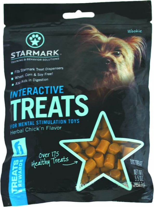 Jouet Haltère pour chien Everlasting Treat crunching Barbell