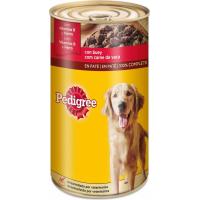 Pâtée en boîte PEDIGREE au Boeuf pour chien adulte