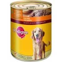 Pâtée en boîte PEDIGREE au Poulet pour chien adulte