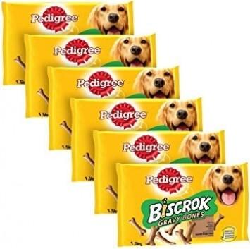 Friandises PEDIGREE Biscrok Gravy Bones pour chien
