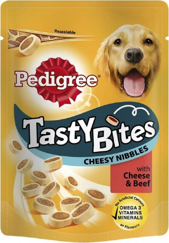 Friandises PEDIGREE Tasty Cheesy Bites pour chien adulte