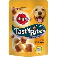 Friandises PEDIGREE Tasty Bites Chewy Cubes pour chien adulte
