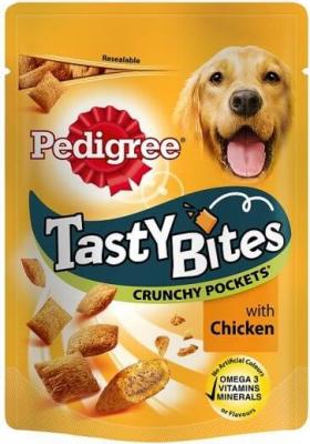 Friandises PEDIGREE Tasty Bites Crunchy Pockets pour chien adulte