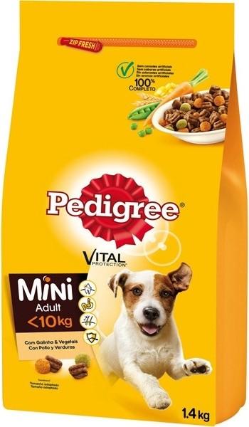 PEDIGREE MINI Vital au Poulet & Légumes pour chien adulte de petite taille