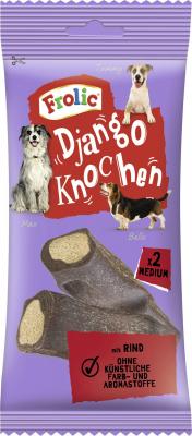 Os à mâcher FROLIC Django au bœuf pour chien moyen