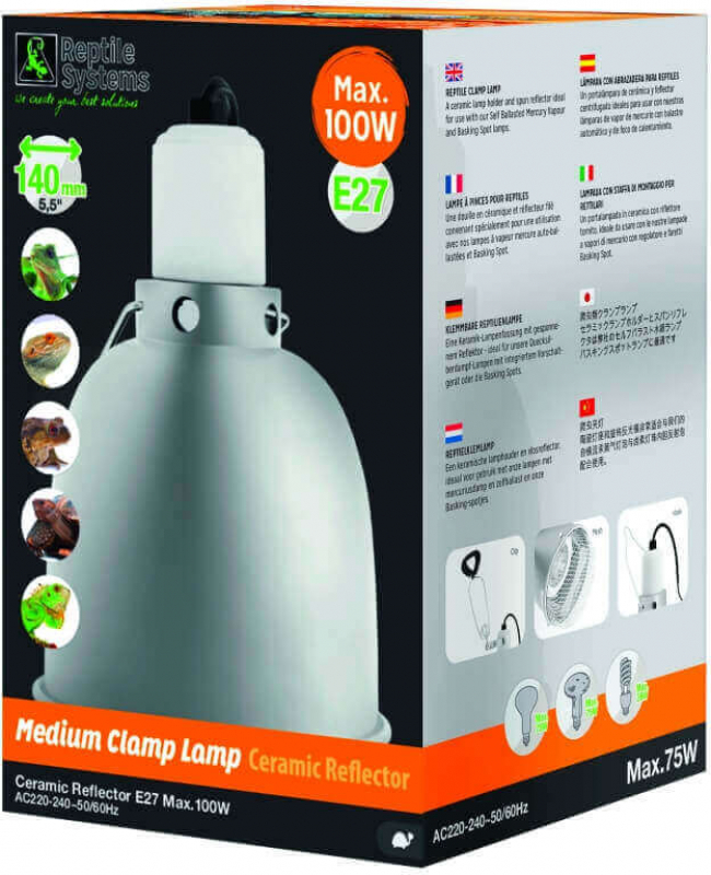 Sistema de iluminación para Vivarium o Pajarera Clap Lamp