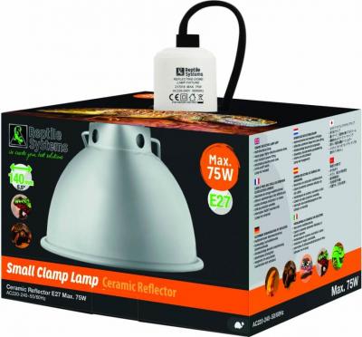 Système d'éclairage pour Vivarium ou Volière Clamp lampe