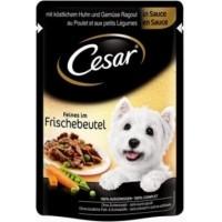 Sachet fraîcheur CESAR en sauce pour petit chien - 2 saveurs au choix (2)
