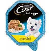 Pâtée CESAR Vital 10+ SENIOR pour chien âgé de petite taille