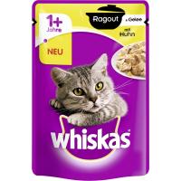 Confezione di Patè Whiskas Ragoût per gatti adulti - 2 sapori a scelta