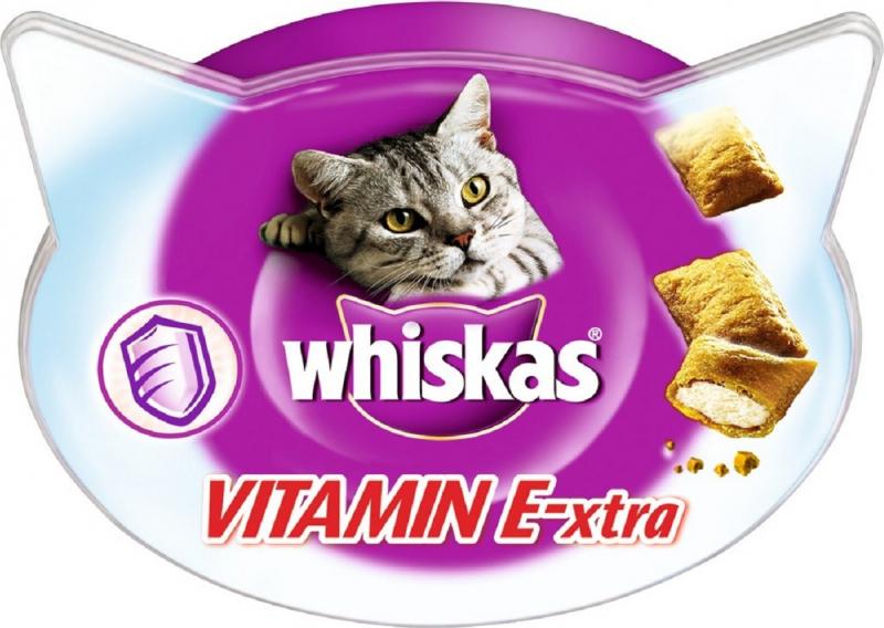 Friandises WHISKAS Vitamin E-xtra pour chat adulte
