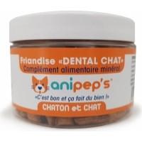 ANIPEP'S Dental Verterinärsnack für erwachsene Katzen und Kätzchen