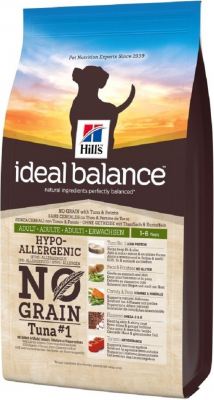 HILL'S Ideal Balance Sans Céréales Adult Thon & Pomme de Terre pour chien adulte