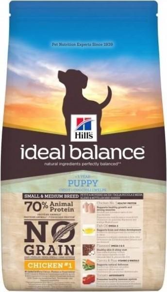 HILL'S Ideal Balance Sans Céréales Puppy Small & Medium Poulet & Pomme de Terre pour Chiot