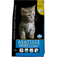 Croquetes MATISSE Kitten com Frango & Arroz para Gatinhos