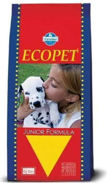 Croquettes ECOPET Junior au Poulet pour Chiot