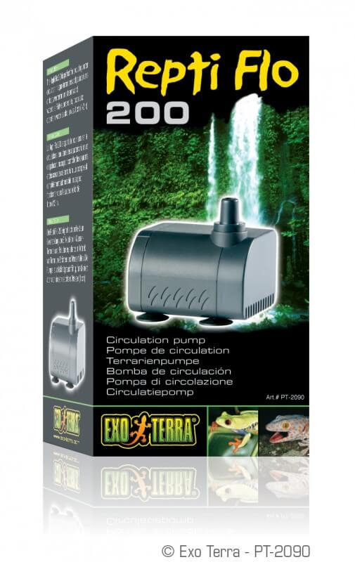 mini pompe pour cascade repti flo 200 pompe et filtre. Black Bedroom Furniture Sets. Home Design Ideas