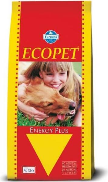 Croquettes ECOPET Energy Plus au Poulet pour Chien adulte très actif