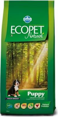 Croquettes ECOPET NATURAL PUPPY Maxi pour Chiot de grande taille