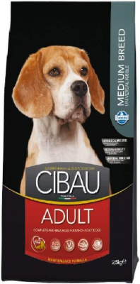 CIBAU Adulto Medium con pollo - perro de raza mediana