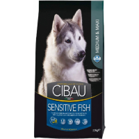 CIBAU Sensitive Medium & Maxi au Poisson pour chien sensible