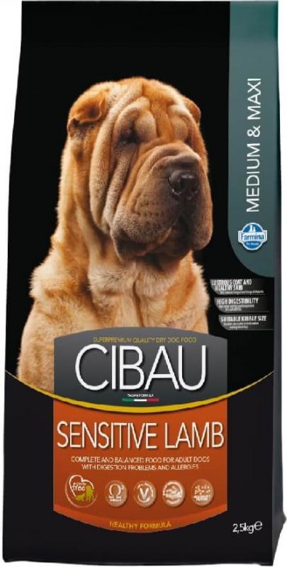 CIBAU Sensitive Medium & Maxi à l'Agneau pour chien sensible