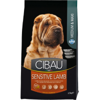 CIBAU Sensitive Medium & Maxi à l'Agneau pour chien sensible