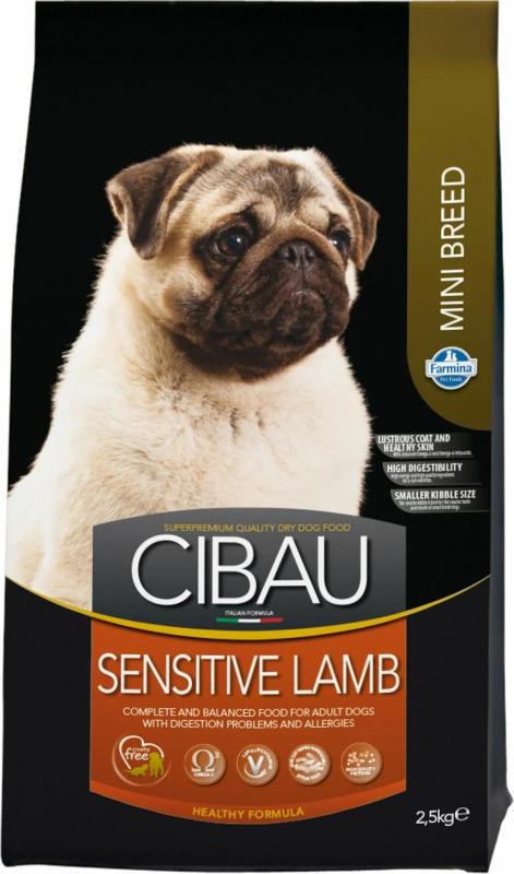 CIBAU Sensitive Mini à l'Agneau pour chien sensible