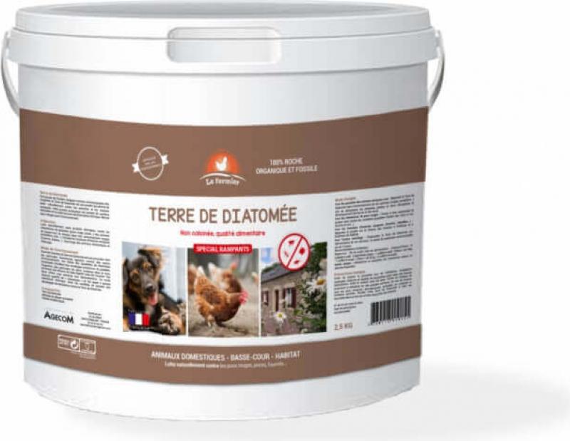 Kieselgur LE FERMIER 2,5 und 5kg