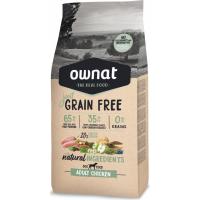 OWNAT Just Grain Free Adult sans céréales au poulet pour chien adulte