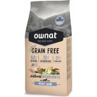 OWNAT Just Grain Free Adult sans céréales à l'agneau pour chien adulte