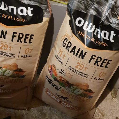 avis amelya ownat grain free poissons