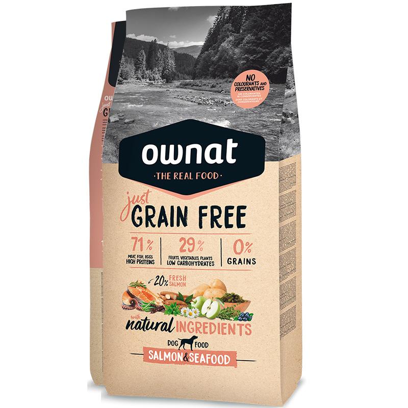 ownat grain free saumon poissons caracteristiques