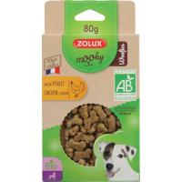Friandises ZOLUX Mooky bio Woofies Pour Chien & Chiot - 4 saveurs au choix