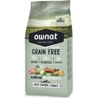 OWNAT PRIME Grain Free Adult sans céréales au poulet & dinde pour chien adulte