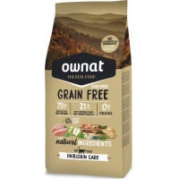 OWNAT PRIME Grain Free Hair & Skin Care Sans Céréales pour Chat Adulte
