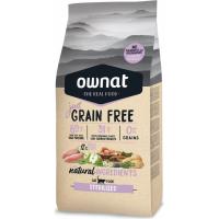 OWNAT Just Grain Free getreidefreies Futter mit Hühnchen für sterilisierte Katzen